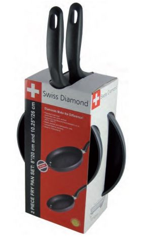 Set Padelle Swiss Diamond