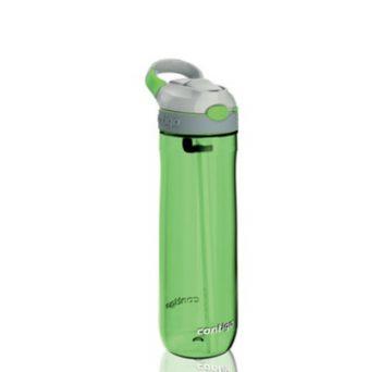 Bottiglia ASHLAND Con Cannuccia Interna Contigo Colore Verde