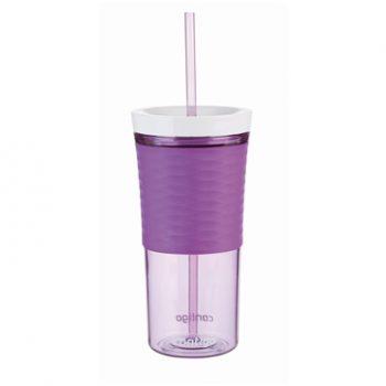 Contigo Bicchiere Shaker con Cannuccia VIOLA