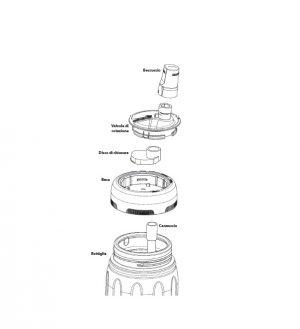 Bottiglia Alluminio Sigg NAT nificant