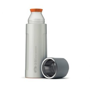 Thermos in Acciaio Silver 1 L Camping GSI Outdoors
