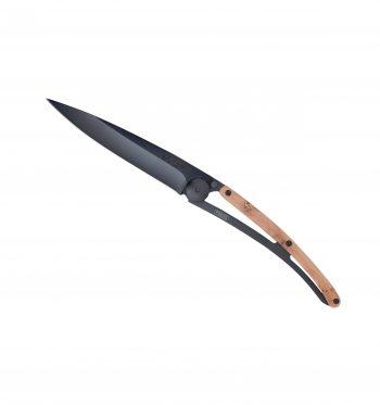 Coltellino Tascabile Deejo Wood Black Collection 37g