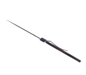Coltellino Tascabile Deejo Wood Black Collection Grenadilla 37g