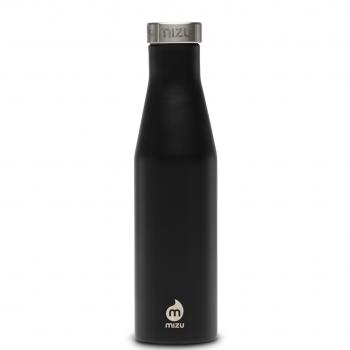 Bottiglia Termica Thermos Black Isolata Serie Slim Mizu 415-560 Ml