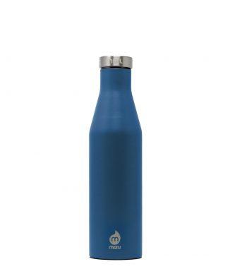 Bottiglia Termica Thermos Isolata Blu Oceano Serie Slim Mizu 560 Ml