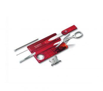 Coltellino Multiuso Victorinox SwissCard Lite Ruby