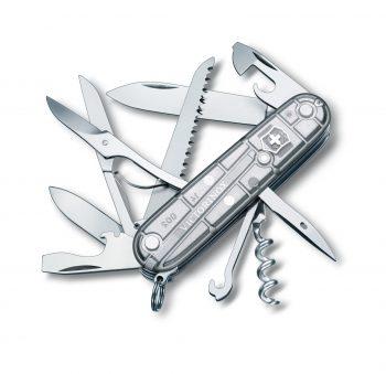 Coltellino Multiuso Victorinox Huntsman Silver Tech