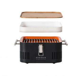 Barbecue a Carbone portatile CUBE
