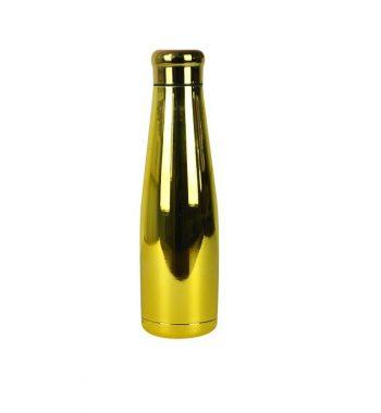 Bottiglia Thermos 550 ml Oro Cromo Woodway
