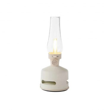 Lampada Led Lanterna Con Speaker MoriMori Bianco Panna