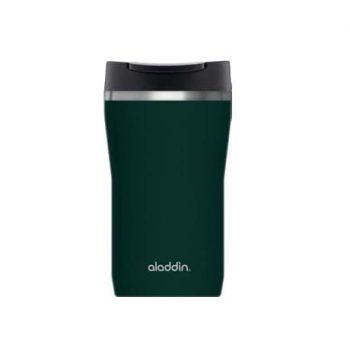 Tazza Termica Verde Tappo Leak Lock Caffè Mug Aladdin Lt 0.25