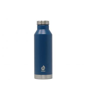 Thermos Bottiglia Termica Isolata Bocca Stretta Blu Oceano Mizu 560-800 Ml