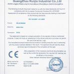 Certificato Mascherina KN95-FFP2 Senza Valvola FFP2 KN95