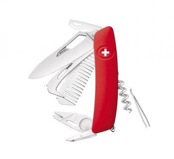 Coltellino Multiuso Tascabile Swiza SH09 R-HTT RED
