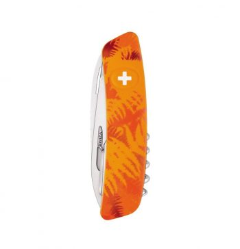 Coltellino Multiuso Tascabile Swiza C07 CAMOUFLAGE ORANGE
