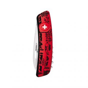 Coltellino Multiuso Tascabile Swiza D03 HEIDILAND RED