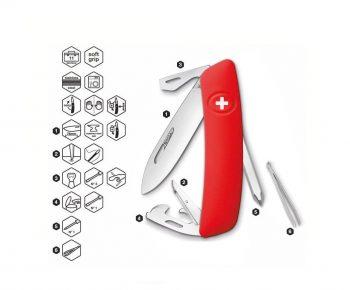 Coltellino Multiuso Tascabile Swiza D04 RED